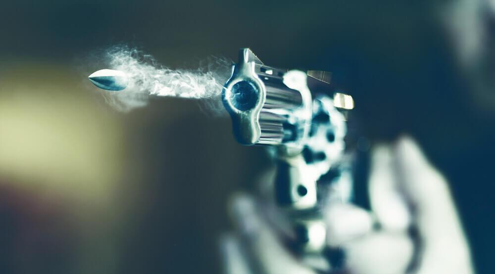 shooting a revolver